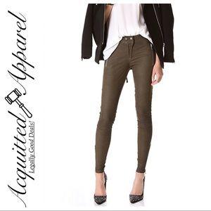 Rebecca Taylor | NWT $1195 Lambskin Leather Pants